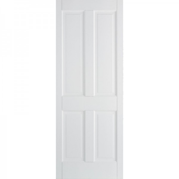 White Canterbury 4P Internal Door