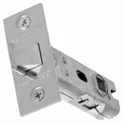 75mm Tubular Mortice Latch Satin Stainless Steel