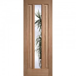 Oak Kilburn 1L Glazed Internal Door - LPD